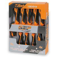 Beta Tools Ten Piece Screwdriver 1263/D10 Steel 012630010