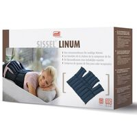 Sissel Linseed Heating Pad Linum 38x36 cm Blue SIS-150.051