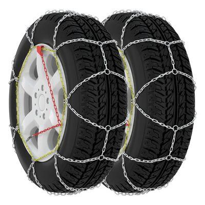 vidaXL Car Tyre Snow Chains 2 pcs 9 mm KN70