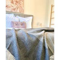 Codu Brighton 100% Nz Wool Monochrome Throw