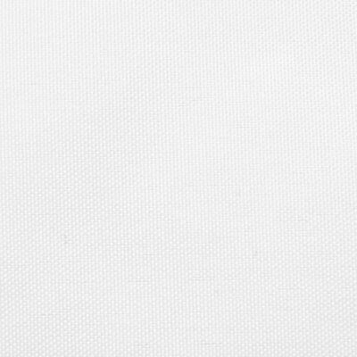 vidaXL Sunshade Sail Oxford Fabric Triangular 4.5x4.5x4.5 m White