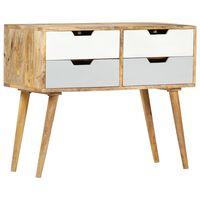 vidaXL Sideboard 85x40x71 cm Solid Mango Wood