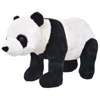 vidaXL Standing Plush Toy Panda Black and White XXL
