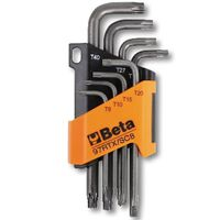 Beta Tools Eight Piece Torx Key 97RTX/SC8 Steel 000970263