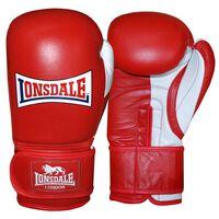 LONSDALE Spar Training Gloves Pro Safe Red 14oz