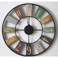 ARCHIE Metal Clock Industrial style 48xx48cm (HxDxW)