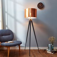 Tripod Floor Lamp with Copper Shade by Versanora Modern Lighting VN-L0