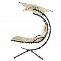 SoBuy Garden Patio Hammock Swing Hammock Swing Chair Sun Lounger,OGS39
