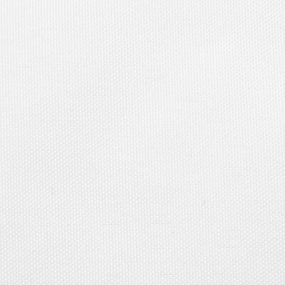 vidaXL Sunshade Sail Oxford Fabric Rectangular 6x8 m White