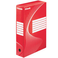 Esselte Archiving Box 25 pcs Red 80 mm