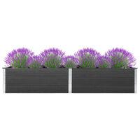 vidaXL Garden Raised Bed 300x100x54 cm WPC Grey