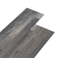vidaXL PVC Flooring Planks 4.46 m² 3 mm Industrial Wood