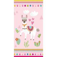 Good Morning Beach Towel LAMA 75x150cm Pink
