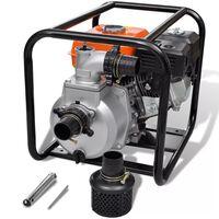 vidaXL Petrol Engine Water Pump 50 mm Connection 6.5 HP