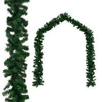 vidaXL Christmas Garland PVC 20 m