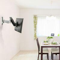 NewStar Flat Screen Wall Mount for 10-30 Screen Full Motion 5-58 cm Silver