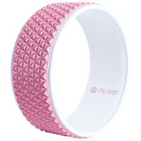 Pure2Improve Yoga Wheel 34 cm Pink and White