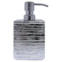 RIDDER Soap Dispenser Brick Silver