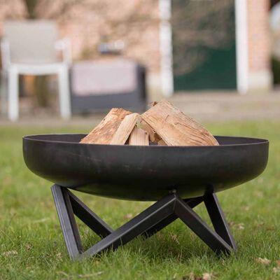 RedFire Fire Bowl Pello Black Steel