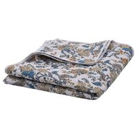 vidaXL Quilt Multicolour 230x260 cm Ultrasonic Quilted Fabric
