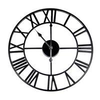 Maison & White Roman Numeral Wall Clock | M&w Black