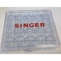 Singer Bobbin Storage Case with 25 Bobbins