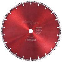 vidaXL Diamond Cutting Disc with Turbo Steel 300 mm
