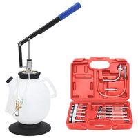 vidaXL Manual Automatic Transmission Fluid Filler with Tool Set 7.5 L