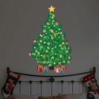 Walplus Magic Traditional Looking Christmas Tree 62x94x0.02cm  0.02KG