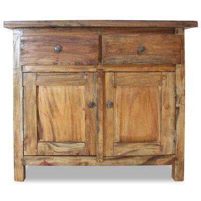 vidaXL Sideboard Solid Reclaimed Wood 75x30x65 cm