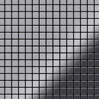 Alloy Mosaic-s-s-m Metal Mosaic Stainless Steel Grey