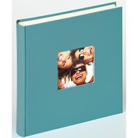 Walther Design Photo Album Fun 30x30 cm Petrol Green 100 Pages