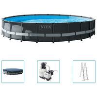 Intex Ultra XTR Frame Swimming Pool Set Round 610x122 cm