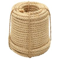 vidaXL Rope 100% Sisal 16 mm 50 m