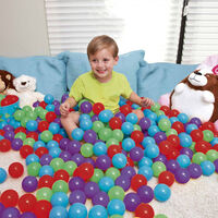 Bestway Up, In & Over Antimicrobial Play Balls With Germ Shield 6.5 Cm