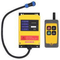 vidaXL Wireless Remote Control for Electric Hoist