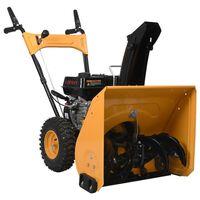 vidaXL Snow Thrower 6.5 HP Yellow and Black