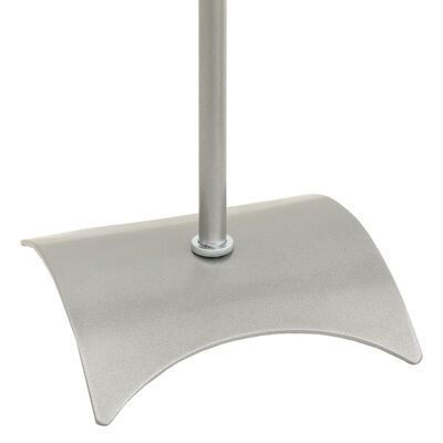 Universal Speaker Stand Silver 2 pcs