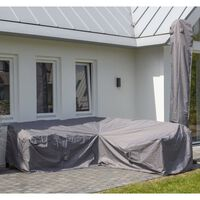 Madison Outdoor Lounge Set Cover 235x235x70cm Grey