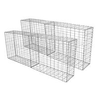 Gabion Baskets Cages Wire Stone Garden / 100 x 80 x 30cm / 4 Pack