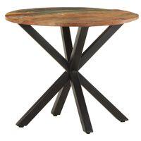 vidaXL Side Table 68x68x56 cm Solid Reclaimed Wood