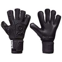 Elite Sport Goalkeeper Gloves Black Solo Size 9 Black