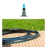 25m x 1 Inch Six Layer Garden Very Strong Black