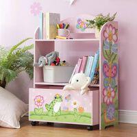 Fantasy Fields Sunny Safari Toy Organizer with Rolling Storage Box TD-