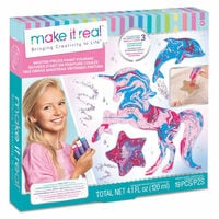 make it real Master Pieces Paint Pouring Set