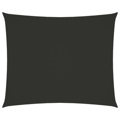 vidaXL Sunshade Sail Oxford Fabric Rectangular 4x5 m Anthracite