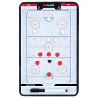 Pure2Improve Double-sided Coach Board Ice Hockey 35x22 cm P2I100640