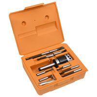 vidaXL 15 Pieces Boring Tool Set 50 mm Boring Head MT3-F1-12