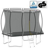 vidaXL Trampoline Set Rectangular 274x183x76 cm 150 kg