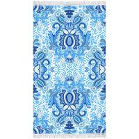 Happiness Beach Towel YOGI 100x180 cm Blue